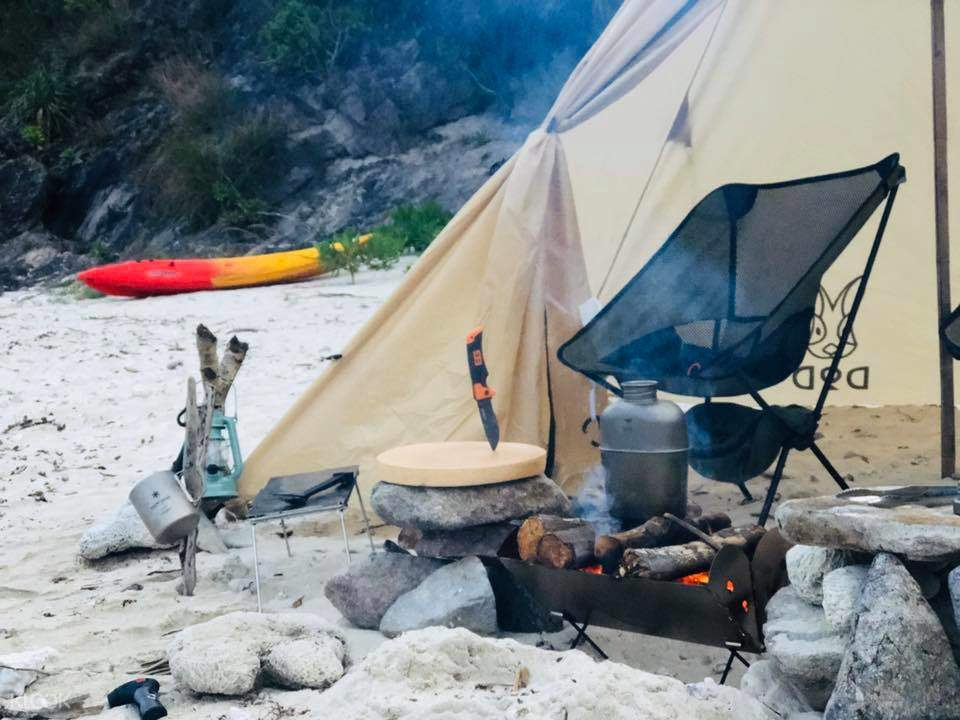 Saikung Kayak Camping Experience 2D1N (Recommended for families)